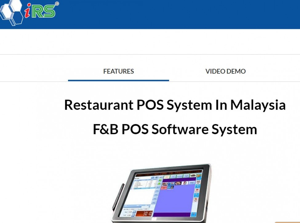 Best POS for restaurants in Malaysia - IRS