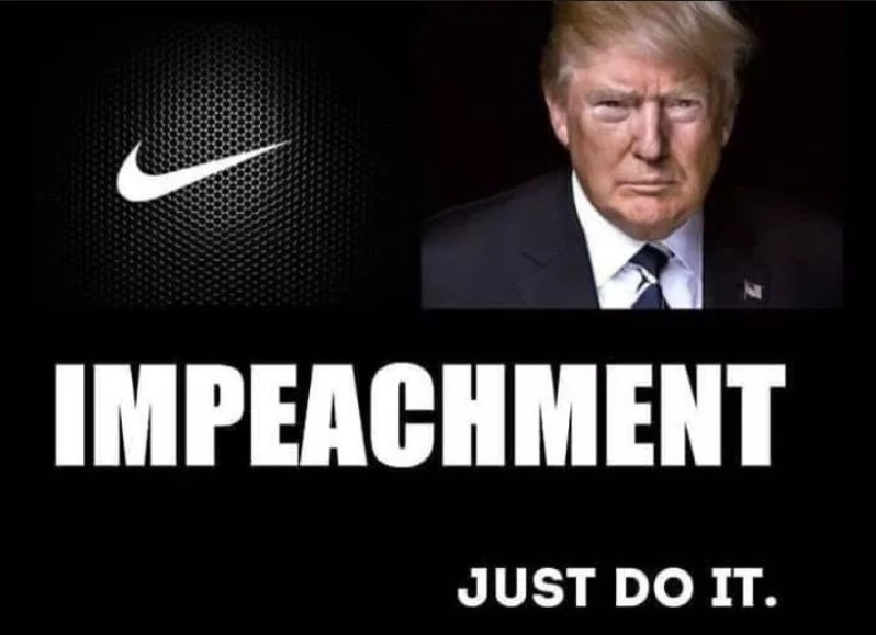 Nike Colin Kaepernick ad - Trump impeachment