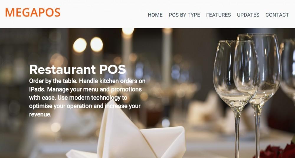 Best POS for restaurants - MEGAPOS