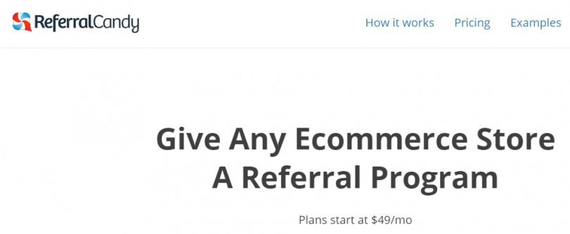 eCommerce Growth Hacking Tools - Referral Candy