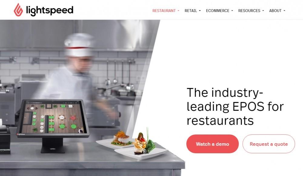 Best POS for restaurants - Lightspeed