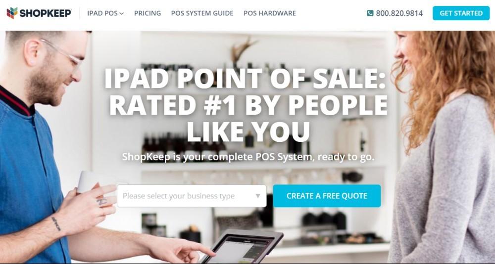 Best POS for restaurants - Shopkeep