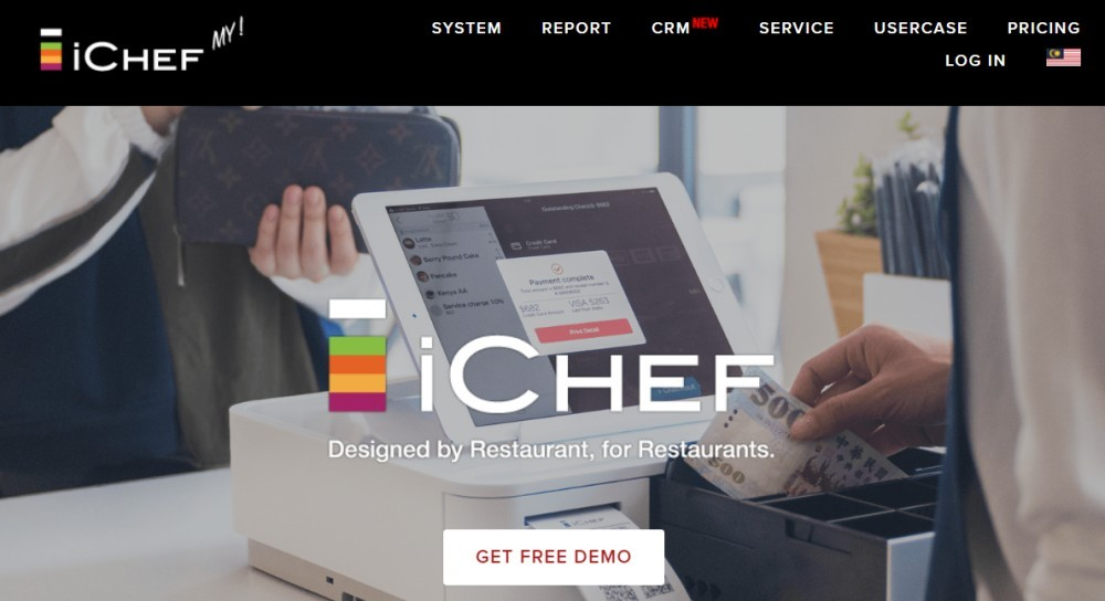 Best POS for restaurants - ichef