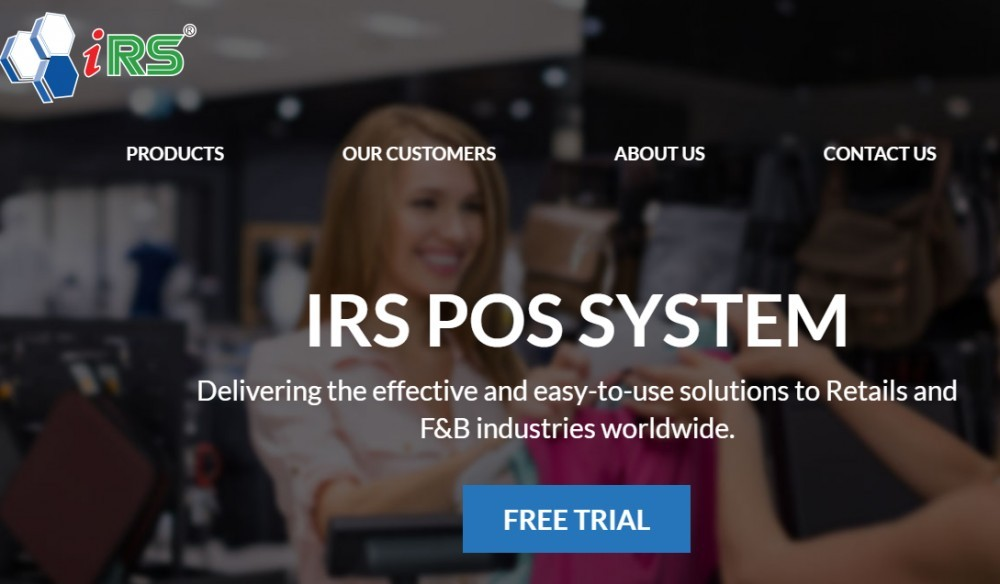 Best POS for salons - IRS POS