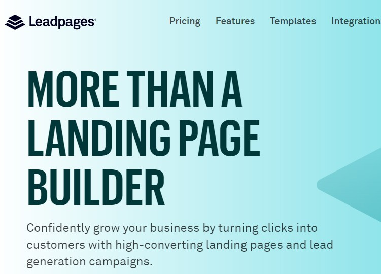 Growth Hacking Tools - Leadpages