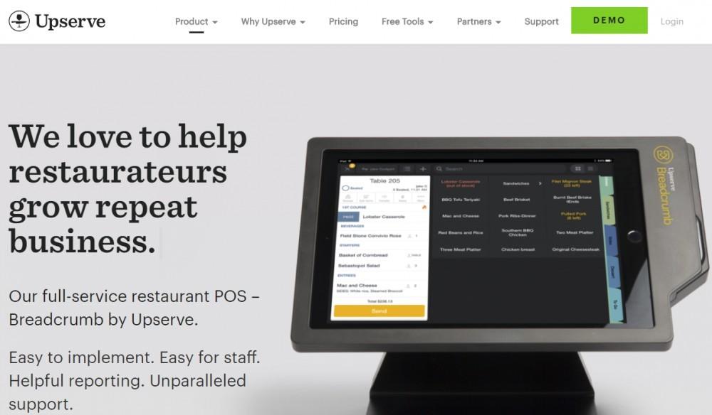 Best POS for restaurants - Upserve