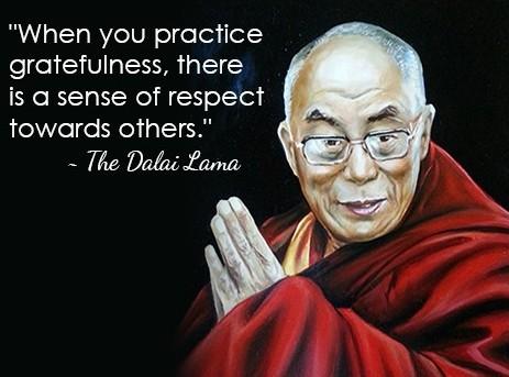gratitude Dalai Lama