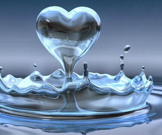water drop peace