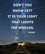 rumi its your light