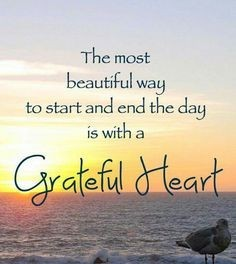 grateful heart daily to awakened hearts