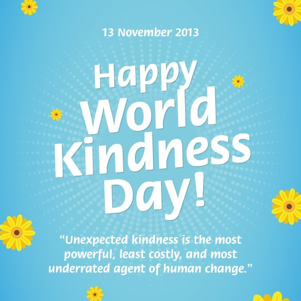 world kindness poster