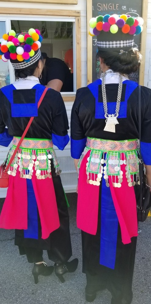 Traditional Hmong outfit