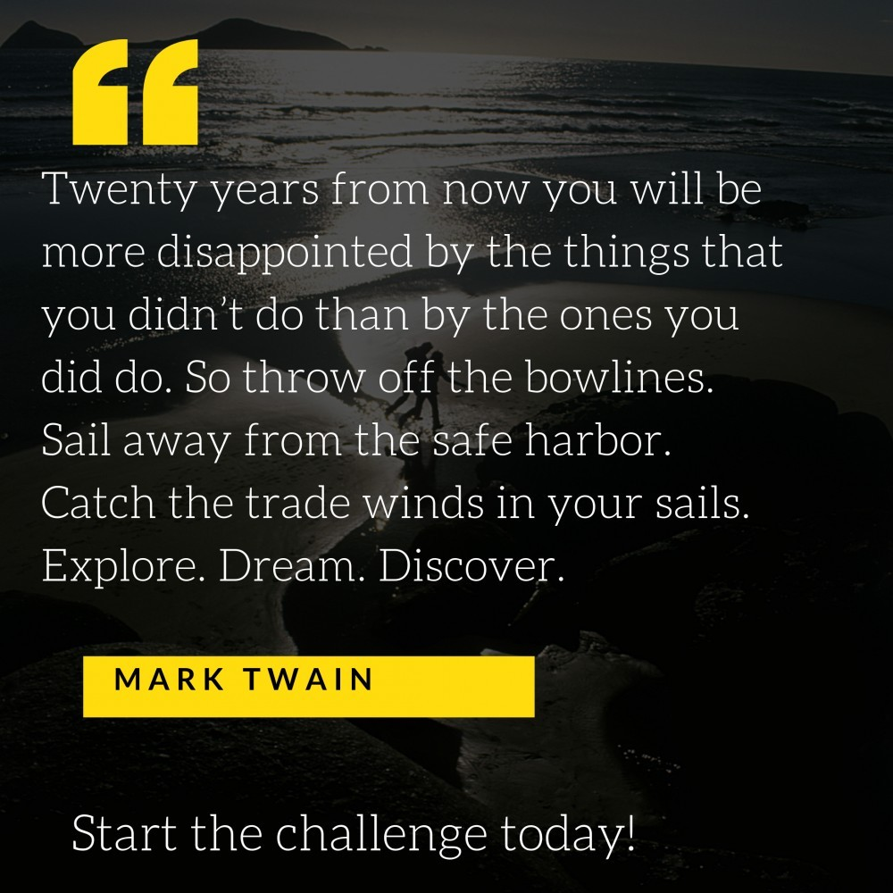 Start the challenge today!
