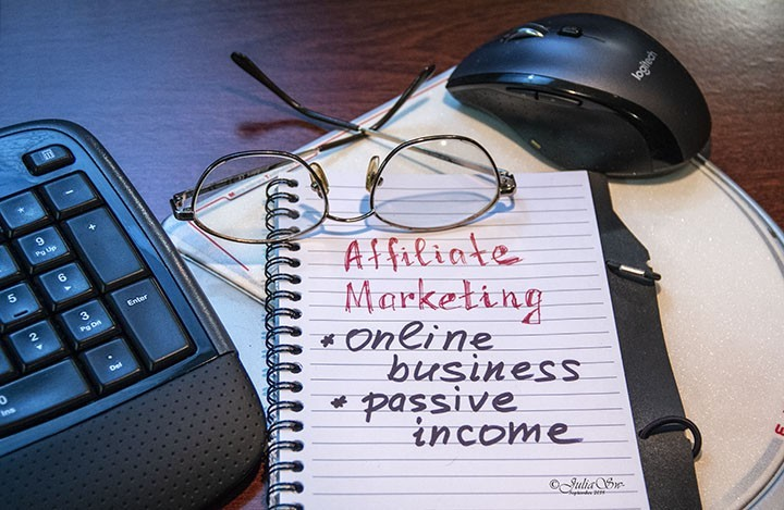 Notebook: Affiliate Marketing - Online business - Passive Income