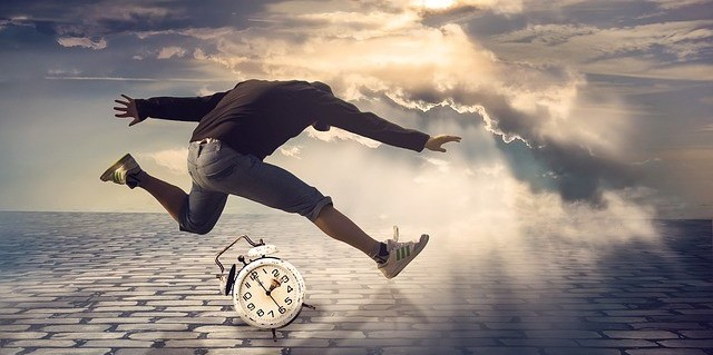 A creative image representing time