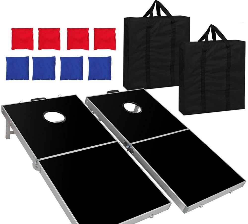 Cheap Cornhole Boards F2C Portable Aluminum Cornhole Set