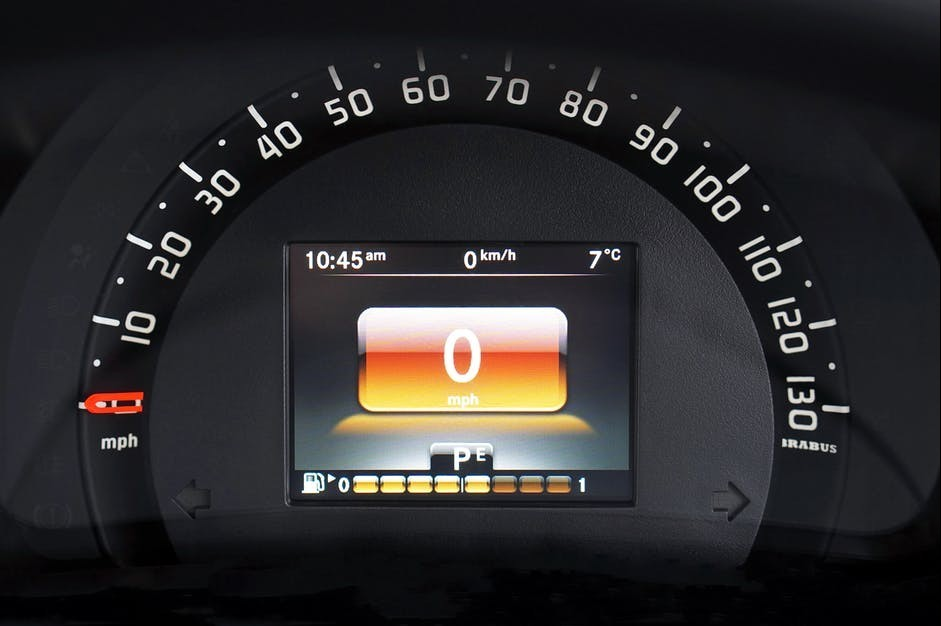 odometer speed test
