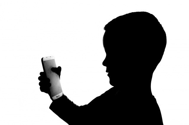 boy child with cell phone
