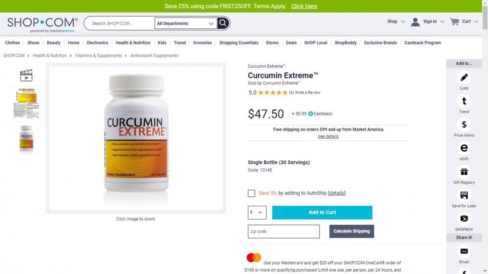 Curcumin Extreme Curcumin BCM-95 Review