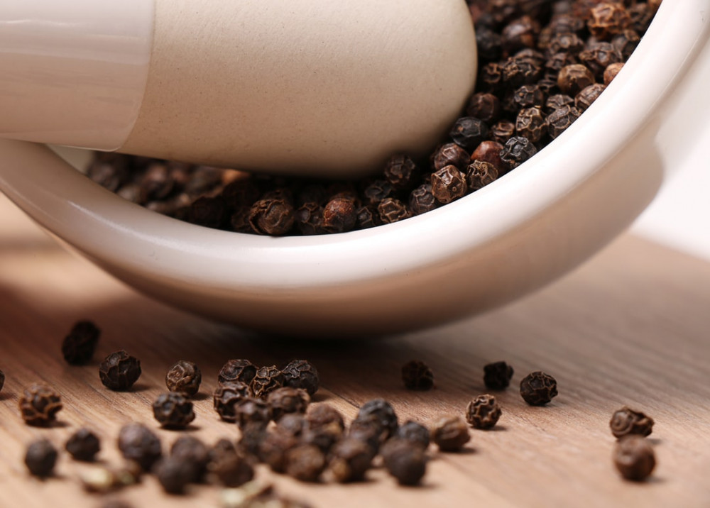 Black Pepper Is One Of The Substances That Can Help With Absorption