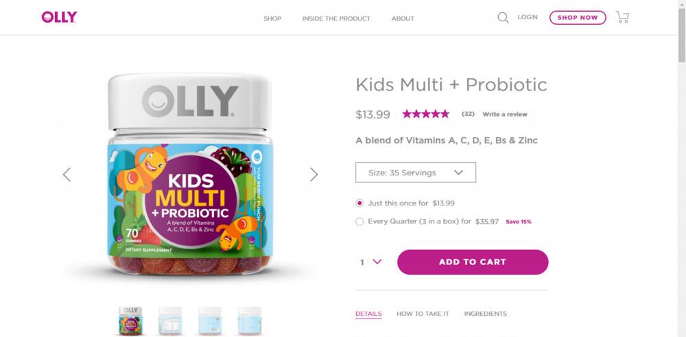 Olly Vitamins Kids Multi Plus Probiotic Review
