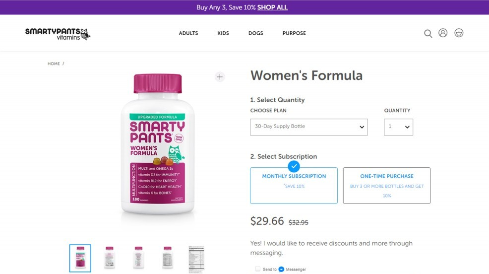 SmartyPants Womens Complete (Formula) Review – Among The Worst Multis For Women