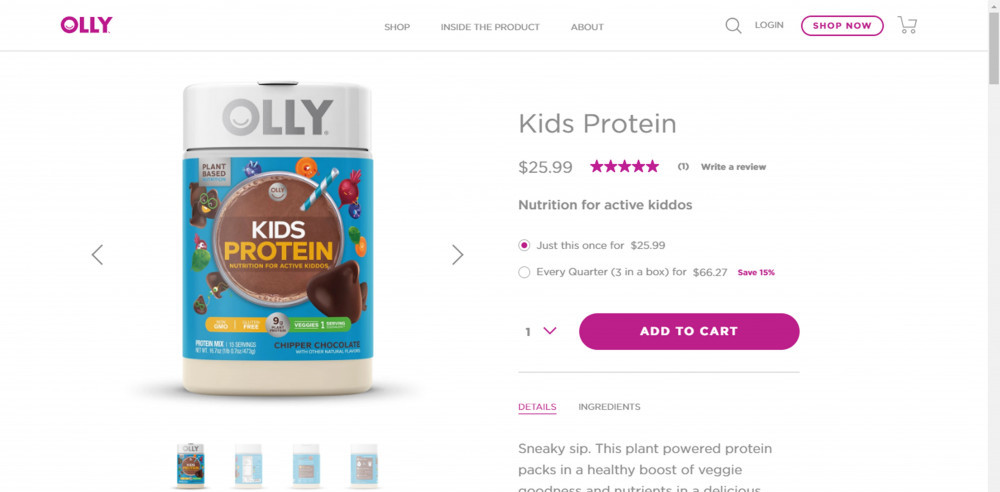 Olly Vitamins Kids Protein Review