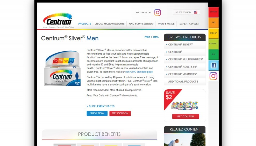 Centrum Silver Men Review (One Of The Worst Multivitamins For Men)