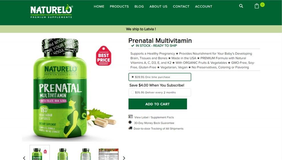 Naturelo Prenatal Multivitamin Review – Among The Best Prenatal And Postnatal Multivitamins
