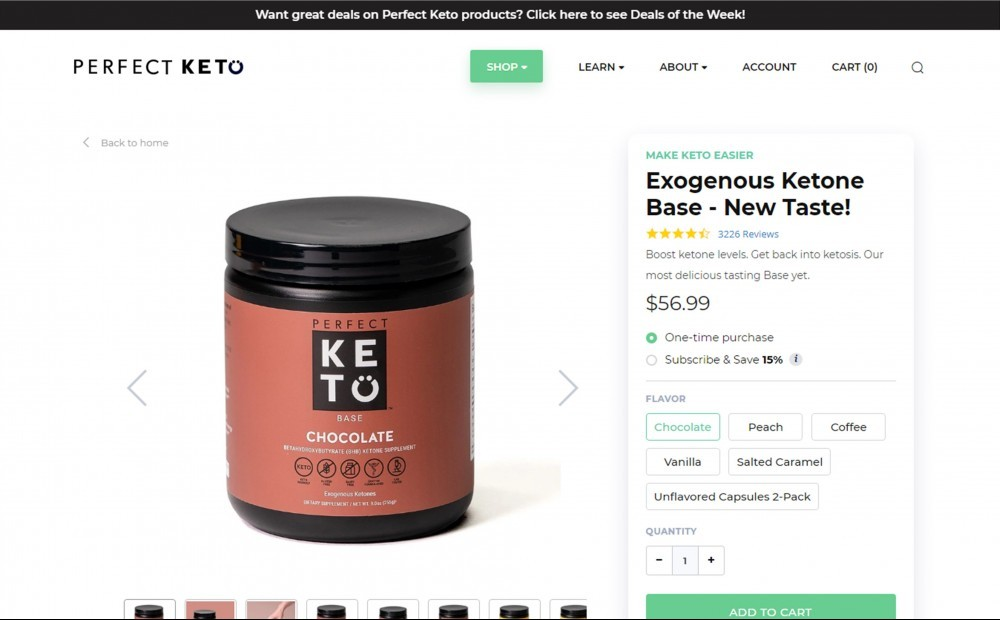 Perfect Keto Base Review