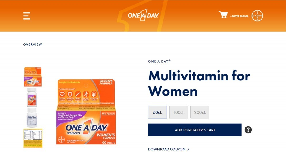 One A Day Womens Formula Review – One Of The Misrepresented Multivitamin Supplements For Women
