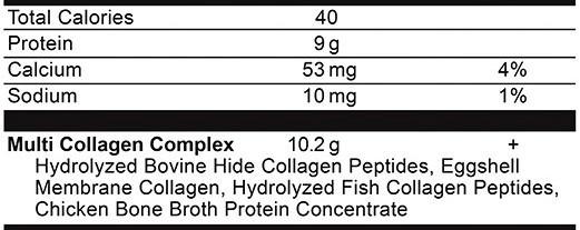 Ancient Nutrition Multi Collagen Protein Strawberry Lemonade Ingredients
