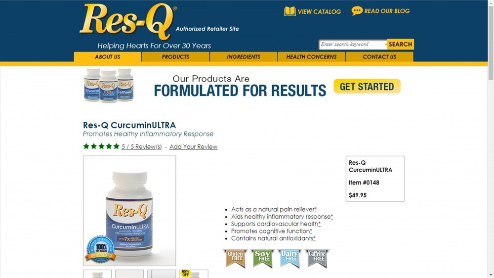 Res-Q Curcumin Ultra Review