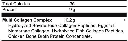 Ancient Nutrition Multi Collagen Protein Ingredients