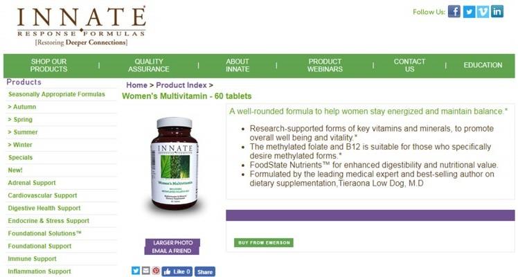 Innate Response Formulas Womens Multivitamin Review – One Of The Best Multi For Women