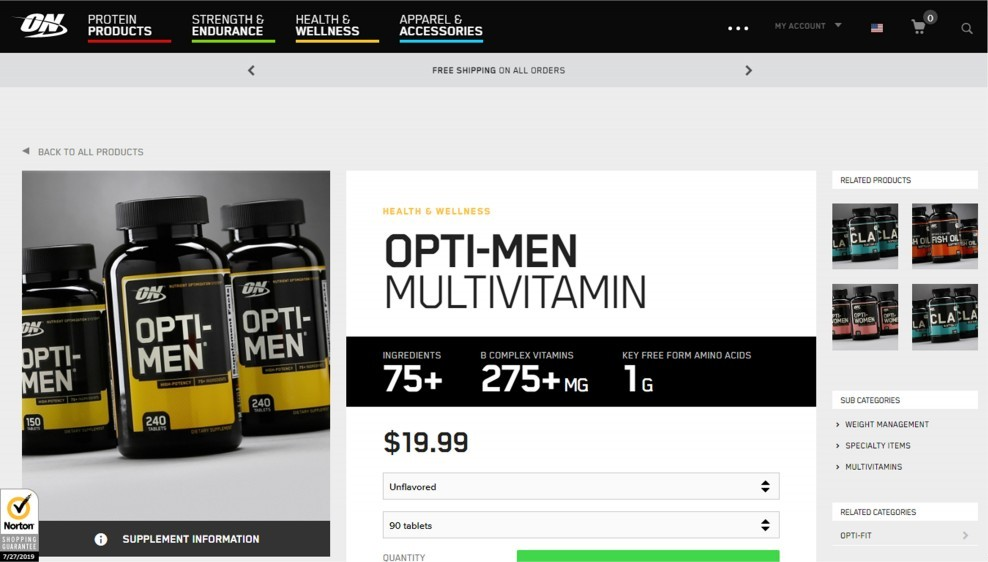 Optimum Nutrition Opti-Men Review (One Among The Very Best Unconventional Multivitamins)