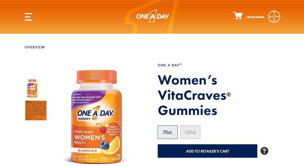 One A Day Womens VitaCraves Review – A Misrepresented Supplement