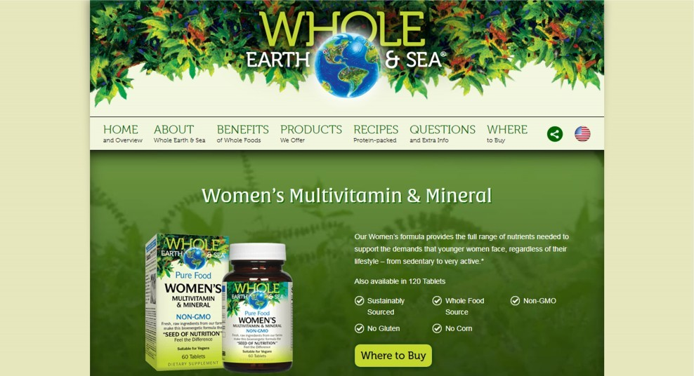 Natural Factors Whole Earth And Sea Womens Review – A Supplement Among The Best Multivitamin Supplements For Women