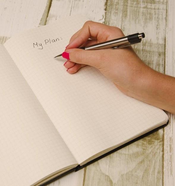 Content writing plan