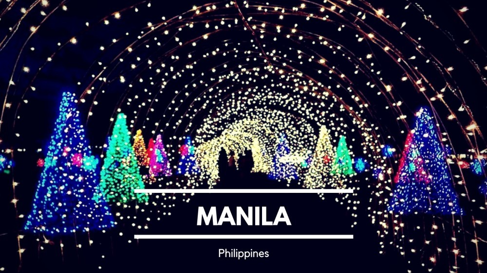 Christmas in Manila, Philippines