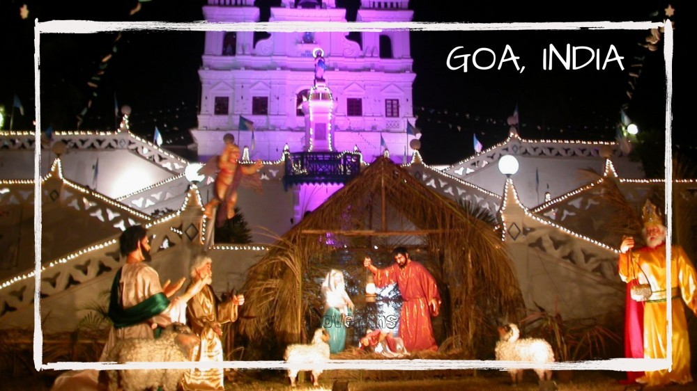 Christmas in Goa, India