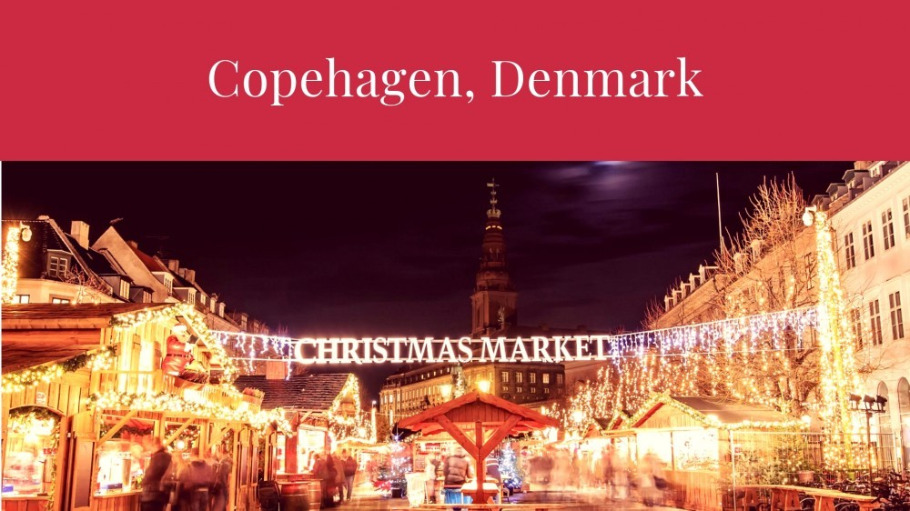 Christmas in Copehagen, Denmark