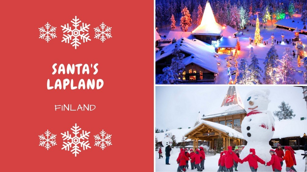Christmas in Santa's Lapland, Finland