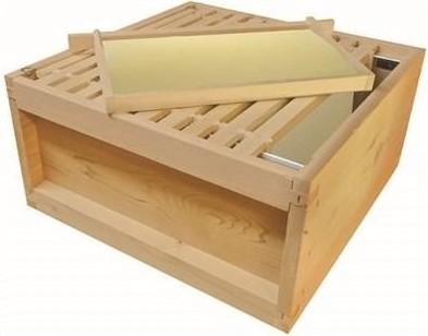 Brood box and Frames