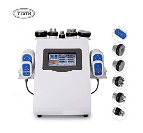 6 in1 Multifunction Body Slimming Treatment Machine Face Shaping Skin Tightening Wrinkle Removal Beauty Machine
