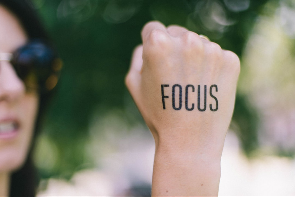 focus on work