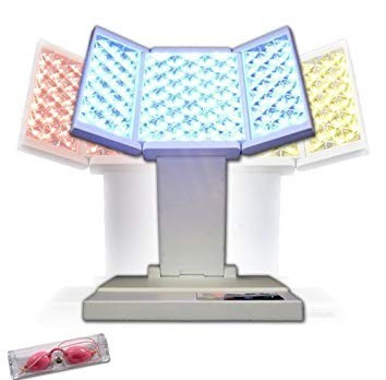 light therapy to rid of wrinkles