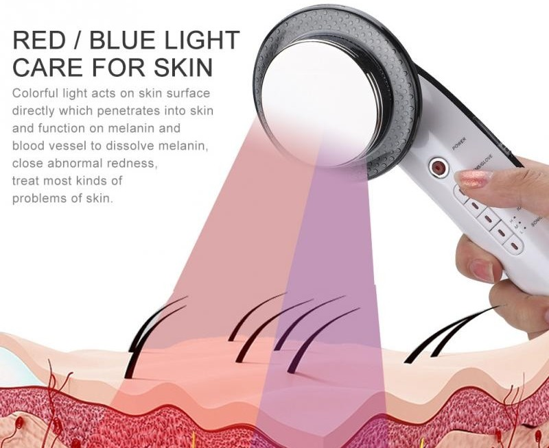 red light therapy used on skin