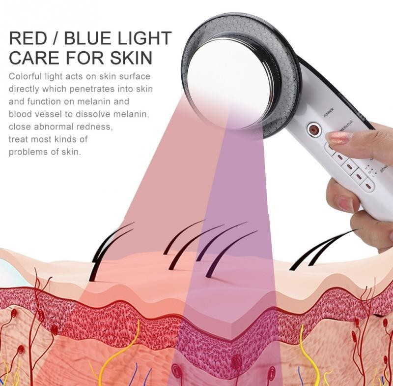 infrared light on skin