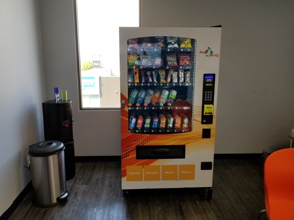 my new school location with a newer type vending machine